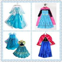 Disfraz Frozen Elsa Anna Fever Corona Tiara Peluca Guantes