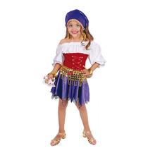 Disfraz Carnavalito Princesa Esmeralda Gitana Niña T: 6-8
