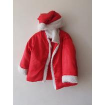 Traje Conjunto Disfraz De Santa Claus San Nicolas Para Niños