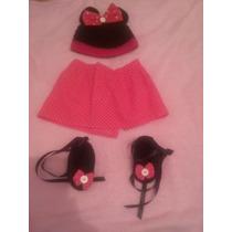 Disfraz Tejido Crochet Minnie Mouse