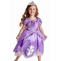 Precioso Disfraz Princesita Sofia Niña Original Disney
