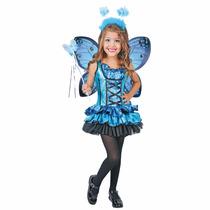 Disfraz Disfraces Princesa Mariposa Magica Alas Corana Cetro