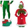 Disfraz Grinch Navidad Para Usar En Eventos Fotografias Show