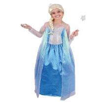 Hermoso Vestido Niña De Frozen Elsa Carnavalito Talla 2