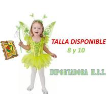 Disfraz Disfraces De Campanita Encantada(tinkerbel)