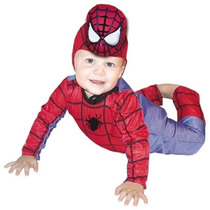 Disfraz Carnavalito Hombre Araña Bebe Talla 18-24