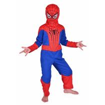 Disfraz De Spiderman Hombre Araña Talla S M L
