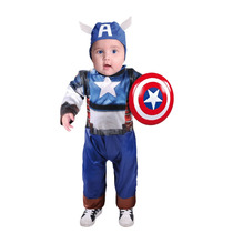 Disfraz Carnavalito Capitán Héroe Bebe Talla 18-24