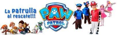 disfraces paw patrol