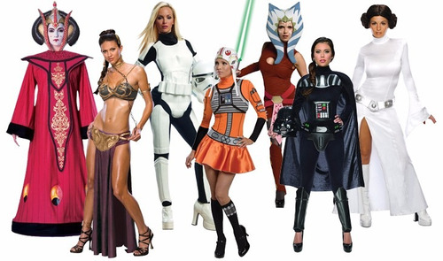 disfraces star wars mujer ideal para halloween