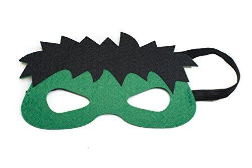 disfraces,disfraz hulk kids capa y máscara set
