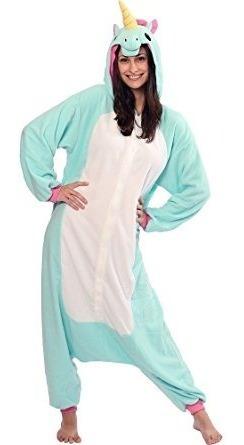 disfraces,disfraz mujer sazac unicornio kigurumi (todas ..