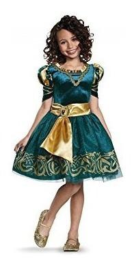 disfraces,juguete mérida disfraz clásico disney princess..