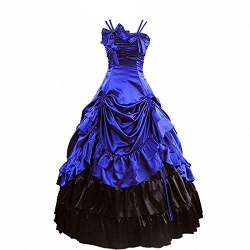 disfraces,partiss mujer lolita clásico vestido de lujo c..