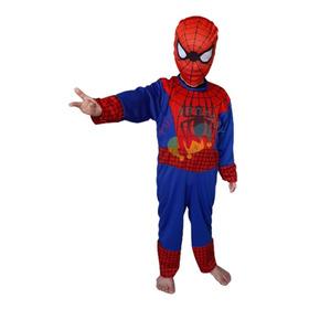 Disfraz  Hombre Araña Con Mascara Spiderman