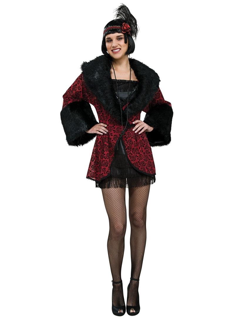 Halloween Disfraz Std Mujer Talla Para Años Abrigo 20 qHqCA0