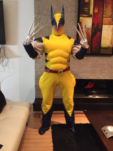 disfraz adulto hombre wolverine - como nuevo