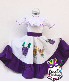 Disfraz Aguascalientes Adelita Regional Vestido Mujer Envio