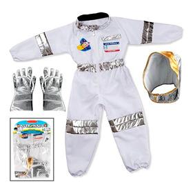 Disfraz Astronauta Con Accesorios