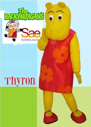 disfraz backardigans - muñeco cabezón thyron
