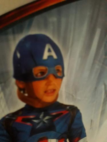 disfraz batman  o capitan america niño talla 6