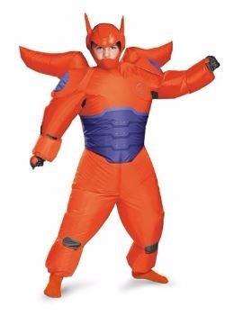 disfraz baymax - grandes heroes - niño -inflable - importado