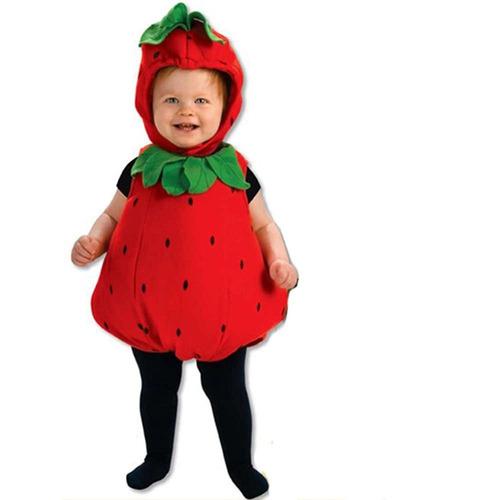 disfraz bebé fresa rubies