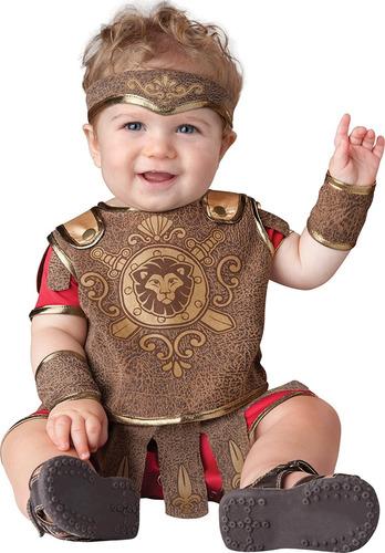 disfraz bebe gladiador incharacter