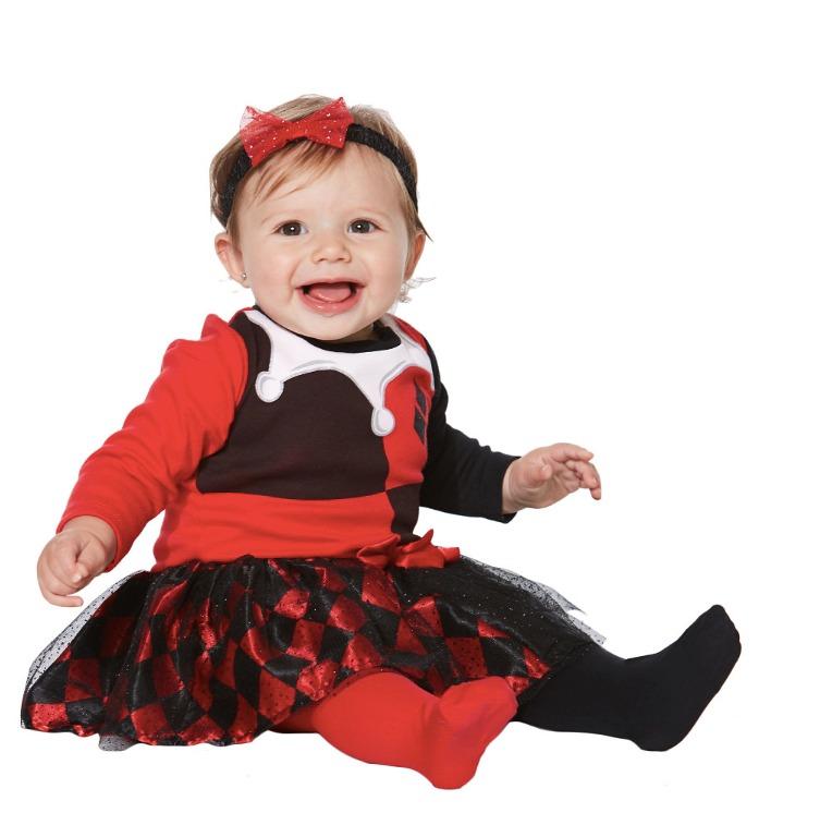 Disfraz bebe harley quinn ni a traje halloween - Disfraces para bebe nina ...