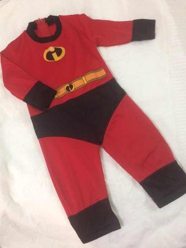 disfraz bebé increíble 6-12meses
