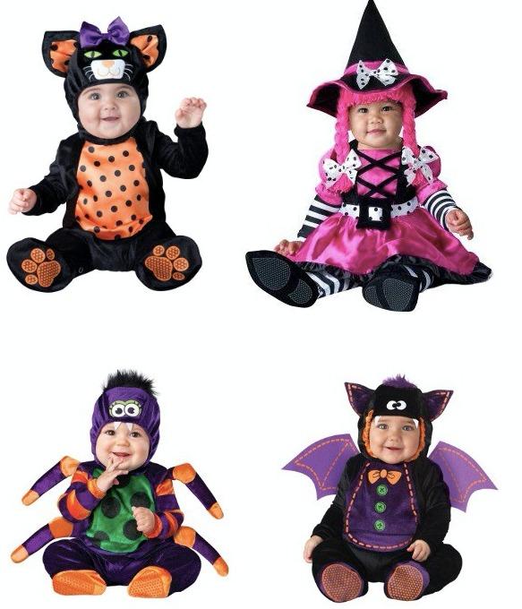 Disfraz Bebe Nino Nina Disfraces Halloween Dia De Brujas - Disfraz-de-bruja-para-bebe