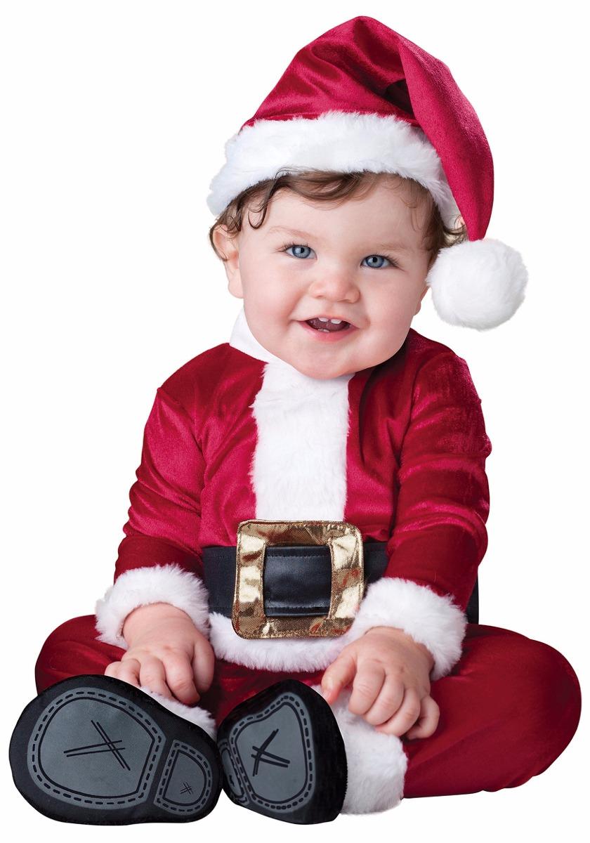 Disfraz Bebe Papa Noel Santa Claus Navidad Bebe 12 A 18meses S - Disfraces-papa-noel-bebe