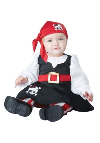 disfraz bebe pirata nia halloween