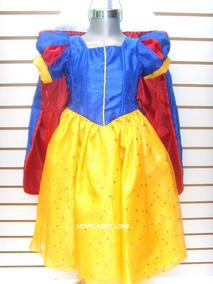 Disfraz Blanca Nieves Talla 8 Años Vestido Blanca Nieves