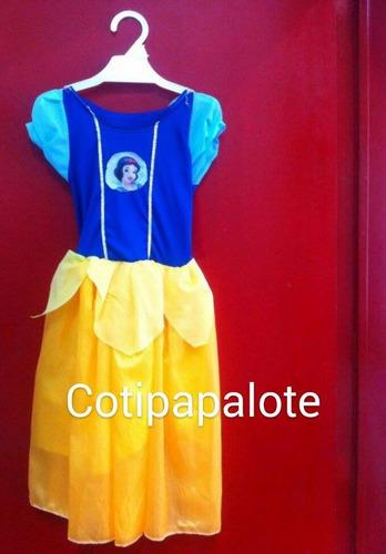 disfraz blancanieves princesa frozen vestido cenicienta