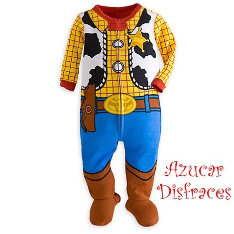 Disfraz Body Enterito Woody Toy Story (disney Store) 9-12m -   999 ... 225f40f4a75