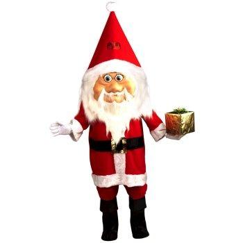 disfraz botarga de santa claus navidad envio gratis
