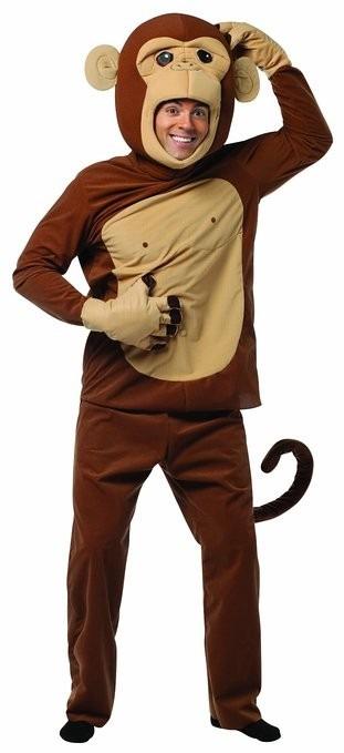 Disfraz Botarga Mono Chango Monkey Adulto Disfraces Hm4 -   1 6a2674e9e4a