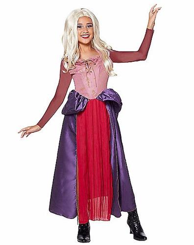 disfraz bruja niña sarah sanderson hocus pocus abracadabra