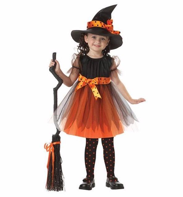Disfraz Bruja Para Niña, Disfraces Para Halloween - S/ 120,00 en ...