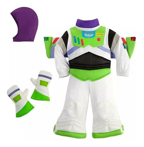 disfraz buzz ligthyear bebé toy story disney store 18/24 m.