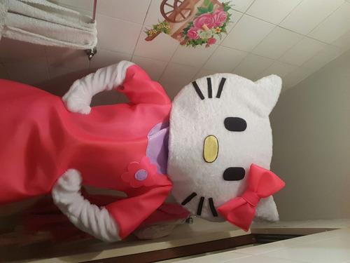 disfraz cabezón kitty nuevo!
