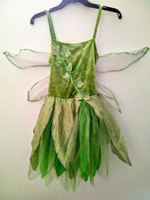 Disfraz Campanita Talla 4 Leve Detalle Vestido Mod S53
