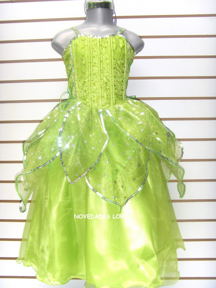 Disfraz Campanita Vestido Princesa Campanita De Lujo