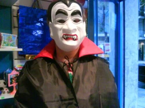 disfraz capa chica niños dracula negra y roja halloween