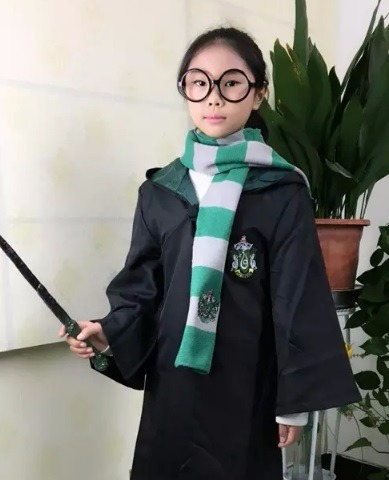 disfraz capa harry potter casas hogwarts