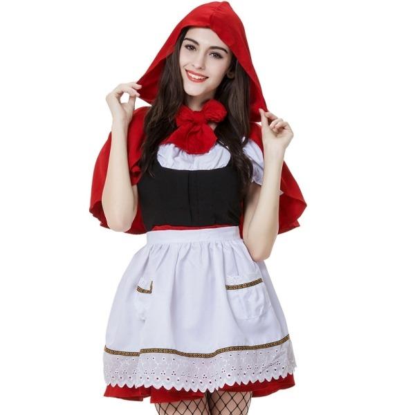 Disfraces Para Halloween De Caperucita Roja.Disfraz Caperucita Roja Para Adulto Halloween Xxl