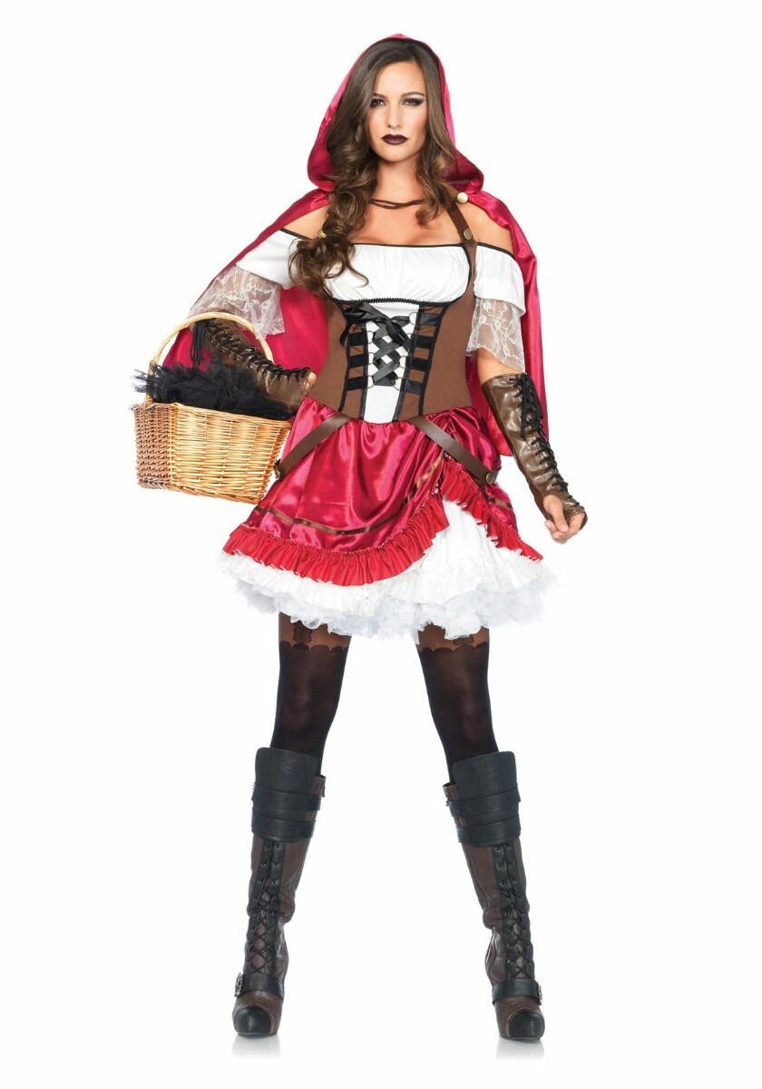 Disfraces Para Halloween De Caperucita Roja.Disfraz Caperucita Roja Leg Avenue Para Halloween Mediano
