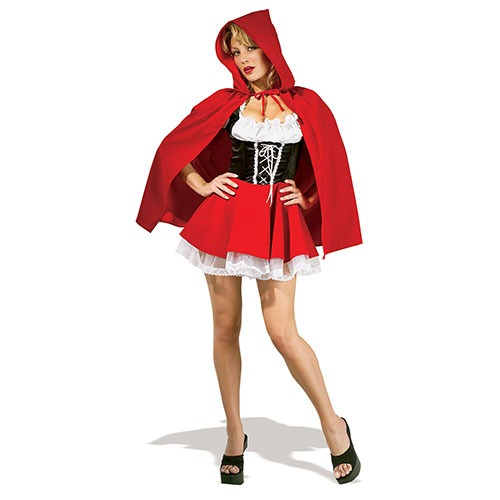 Disfraz De Caperucita Roja Sexy Para Mujer Talla Xs 179 550 En