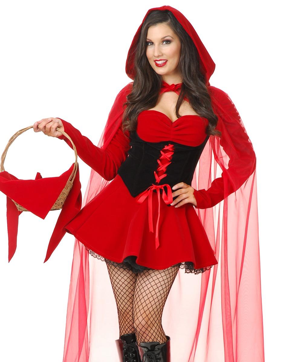 Caperucita Roja Halloween.Disfraz De Caperucita Roja Para Mujer Talla Xl Halloween